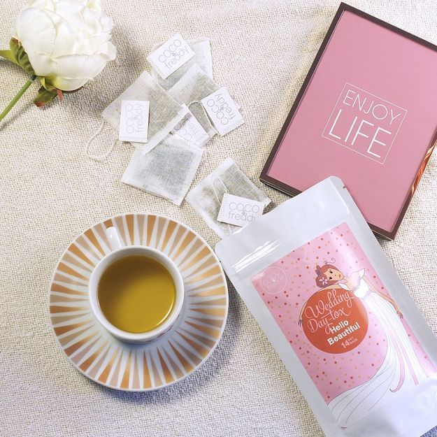 #ELLEBeautyCrush : le Wedding Day-Tox ou les thés 100% bio spécial mariage de COCO&freddy
