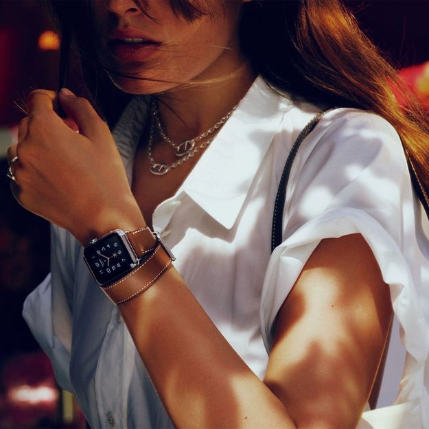 It pièce : L'Apple Watch Hermès, la montre qui vit avec son temps