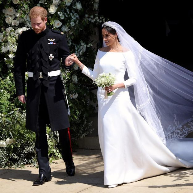 On connait le prix de la robe de mariée Givenchy de Meghan Markle