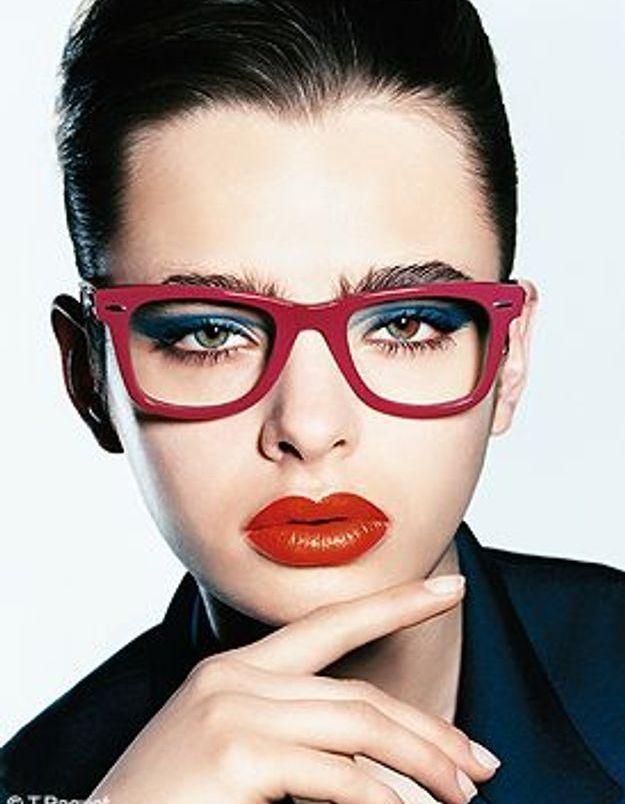 Elle beaut maquillage lunettes elle - Maquillage avec lunette ...
