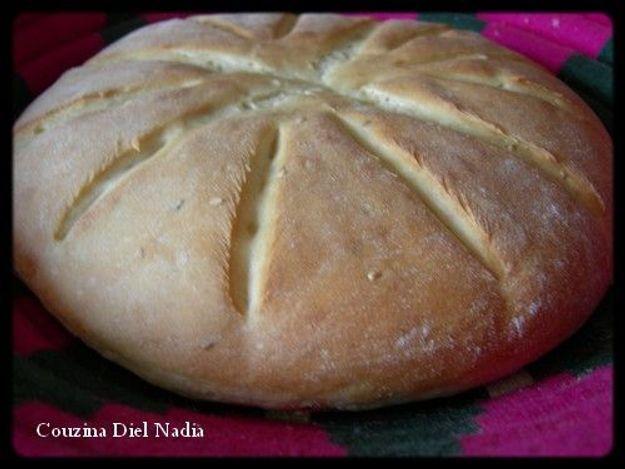 "Couzina Diel Nadia : ""Pain au fromage Kiri"""