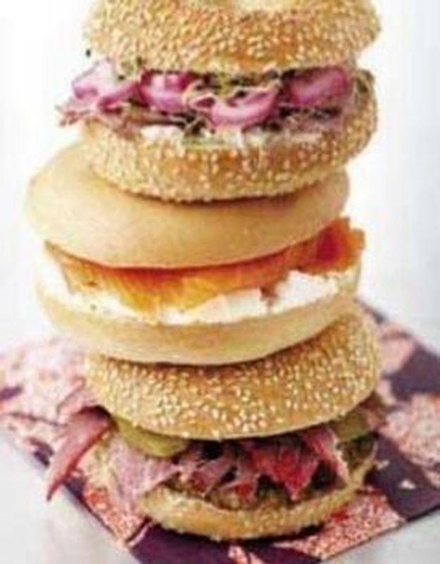 Le bagel : attention it-sandwich !