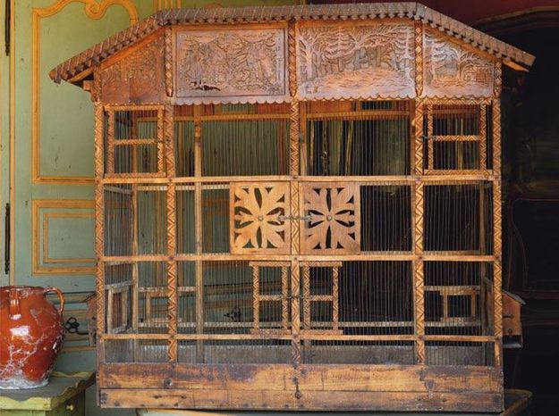 La cage à oiseaux