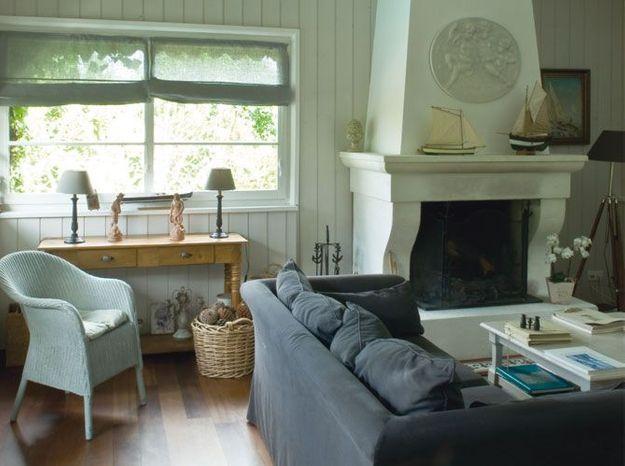 une maison au style colonial au cap ferret elle d coration. Black Bedroom Furniture Sets. Home Design Ideas