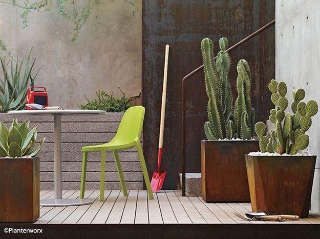Le jardin contemporain est il fait pour vous elle for Deco jardin contemporain