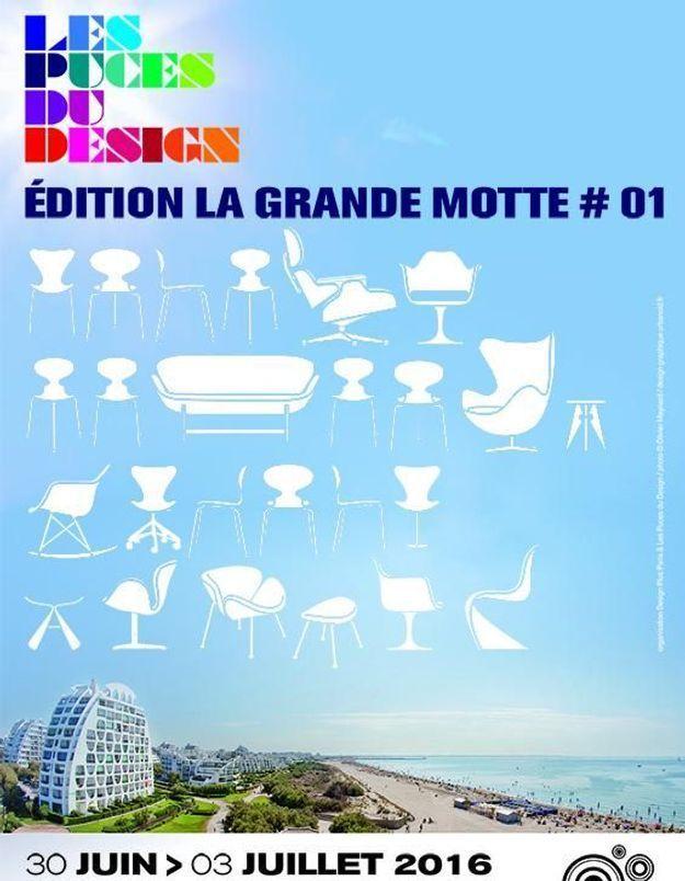 Les puces du design s exportent la grande motte elle for Les puces du design