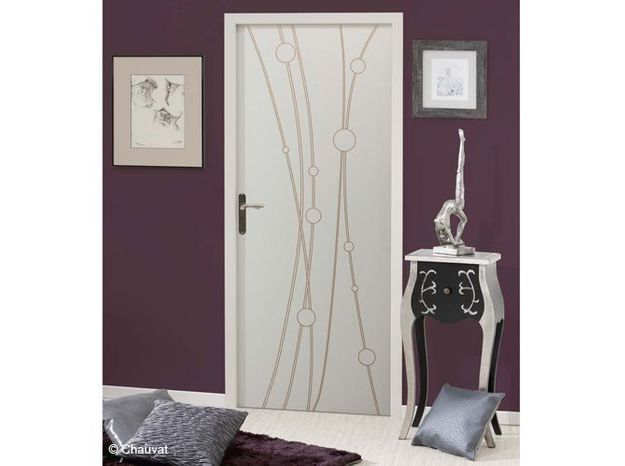 Id e d co porte int rieure id e inspirante for Decoration porte 3d