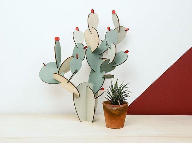l 39 objet d co du jour le cactus papier tigre elle d coration. Black Bedroom Furniture Sets. Home Design Ideas
