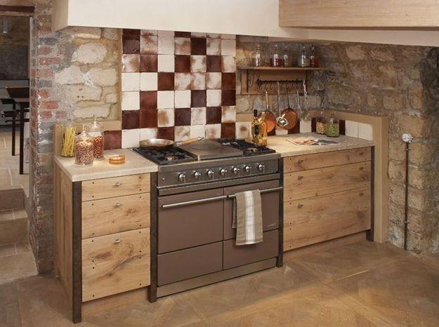 des cuisines industrielles elle d coration. Black Bedroom Furniture Sets. Home Design Ideas