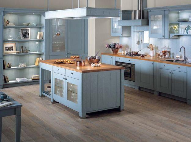 3 meubles pour une cuisine conviviale elle d coration for Deco pour une cuisine