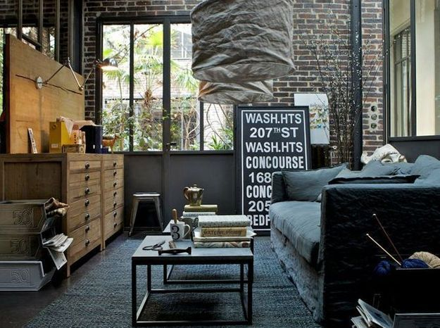 Nos conseils pour une d co industrielle au top elle for Decoration maison industrielle