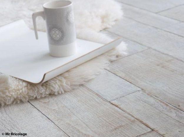 comment blanchir son parquet elle d coration. Black Bedroom Furniture Sets. Home Design Ideas