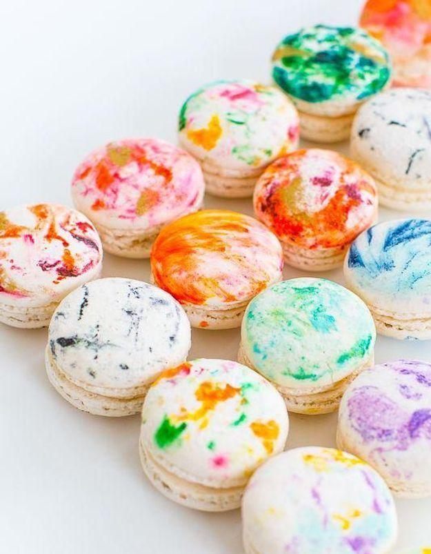 Macaron marbr comment faire des macarons marbr s elle table - Comment faire briller le marbre ...