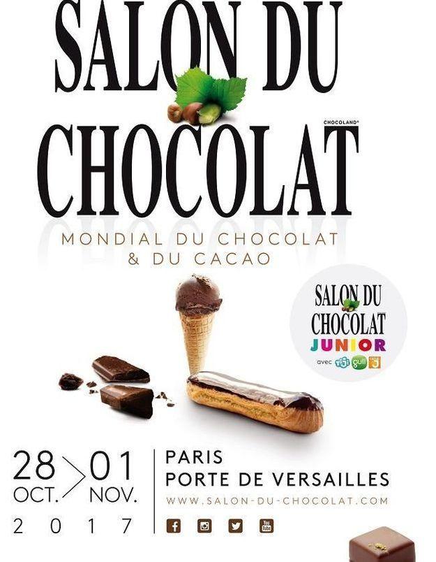 D couvrez les temps forts du salon du chocolat 2017 elle table - Salon du chocolat 2017 paris ...