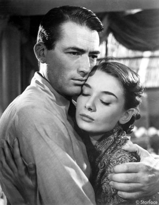 Audrey Hepburn et Gregory Peck dans « Vacances romaines »