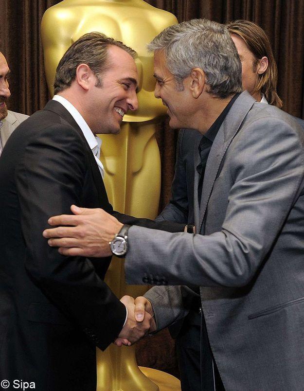 George clooney jean dujardin nouveau duo du cin ma for Dujardin dernier film