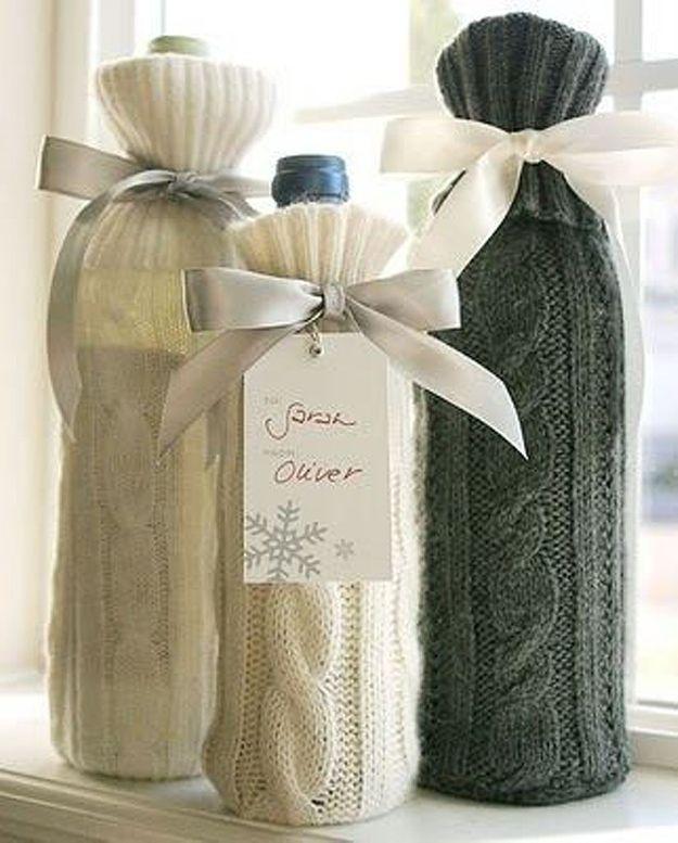 Emballage cadeau bouteille 25 id es d emballages cadeau qui font de l 39 effet elle - Idee emballage cadeau drole ...
