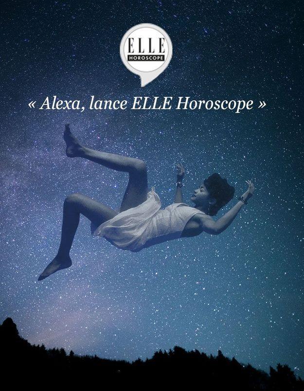 Votre horoscope ELLE est désormais disponible sur Amazon Echo