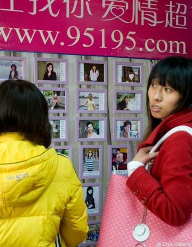 Chine : Un supermarché pour les célibataires