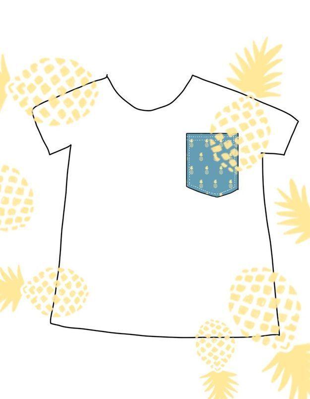 customiser un tee shirt comment customiser un t shirt elle. Black Bedroom Furniture Sets. Home Design Ideas