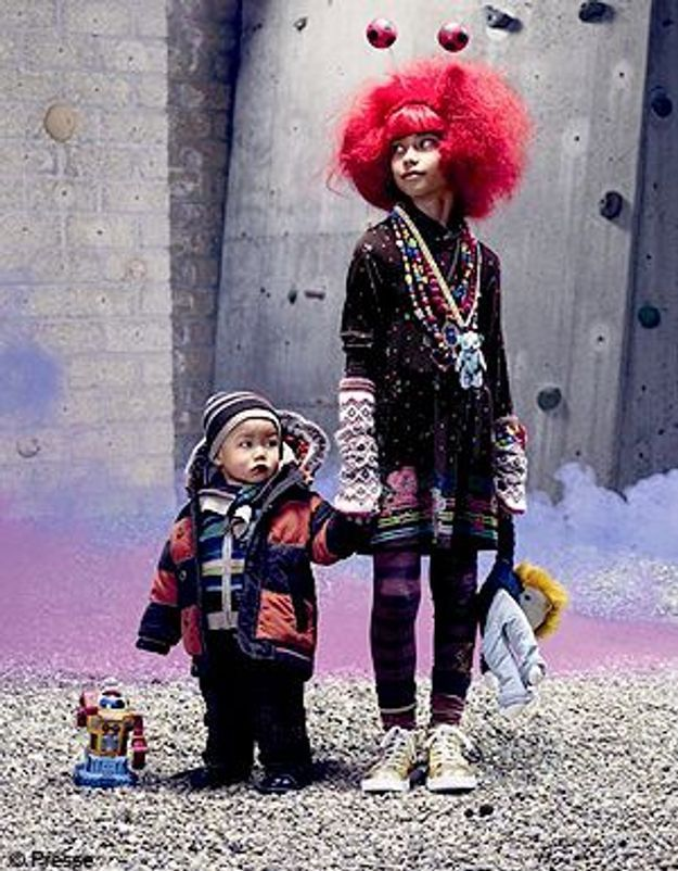 Les enfants plus fashion que leurs parents ?