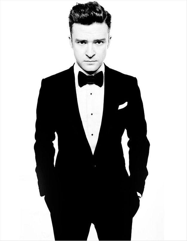 Justin Timberlake rhabillé par Tom Ford