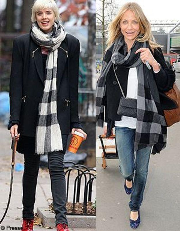 le foulard burberry le it accessoire de la rentr e elle. Black Bedroom Furniture Sets. Home Design Ideas