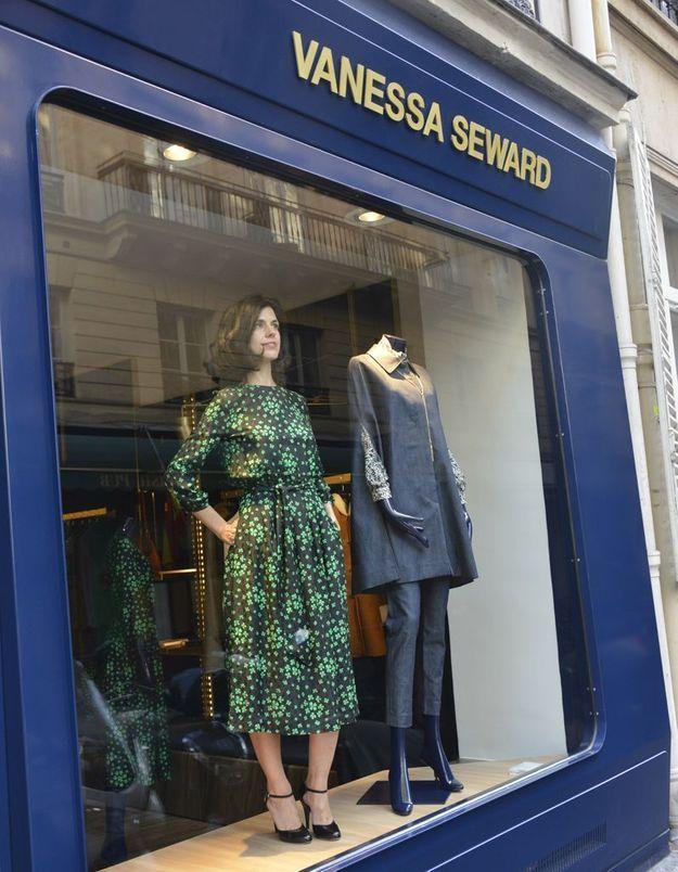 L'instant mode : Vanessa Seward vendeuse d'un jour dans sa propre boutique