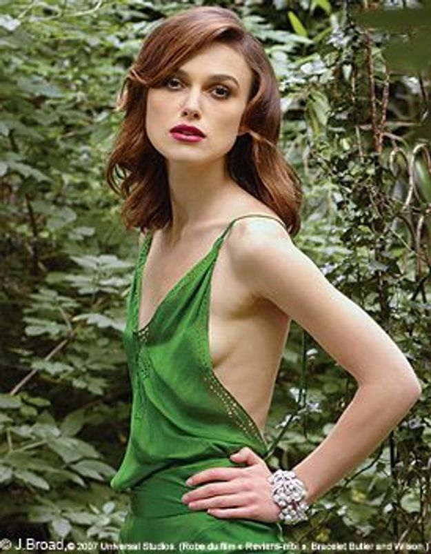 Keira Knightley - Seins nus pour Demarchelier, elle