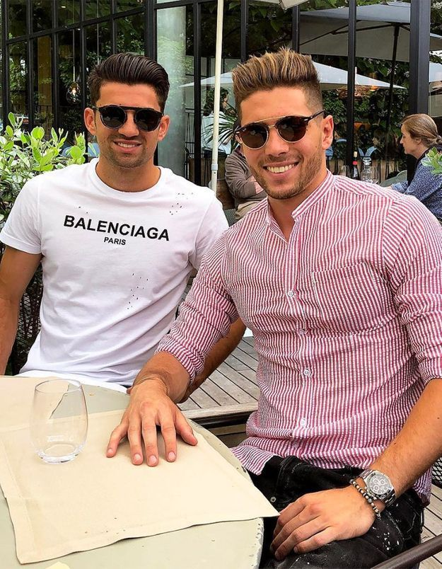 Luca et Enzo Zidane