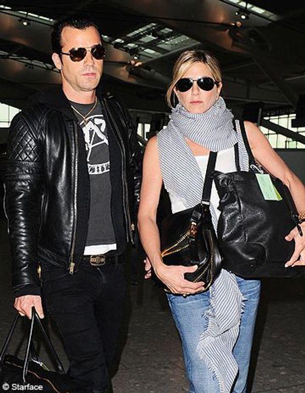 jennifer aniston et justin theroux un mariage la grecque - Jennifer Aniston Mariage
