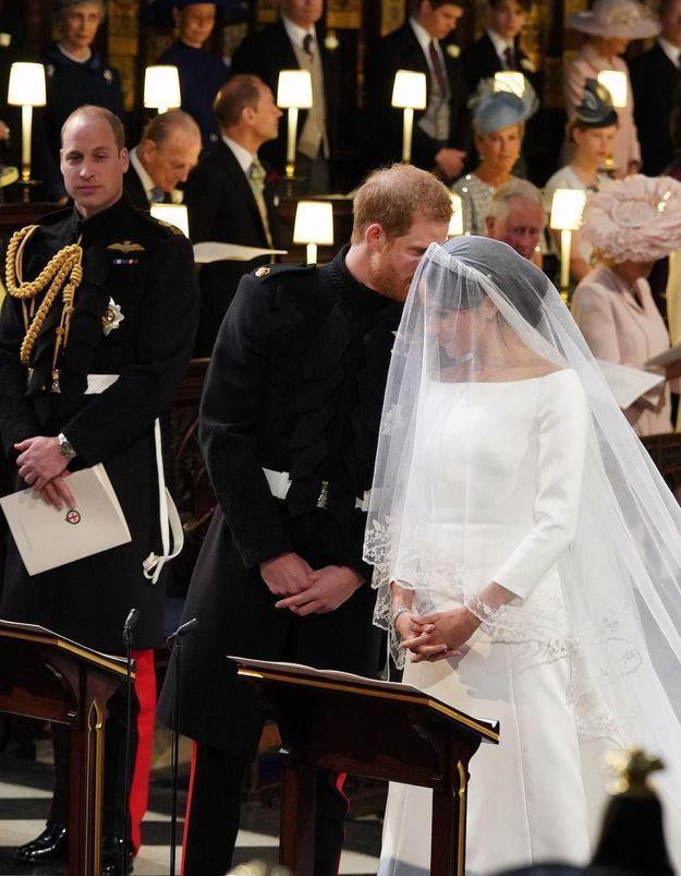 Mariage princier  la petite phrase qu\u0027a chuchotée Harry à Meghan quand  elle est