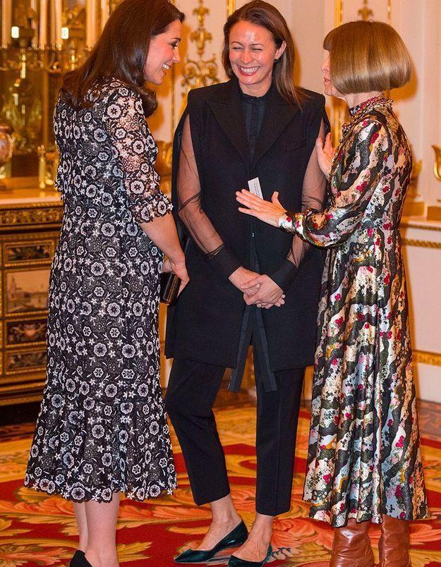 Kate Middleton et Anna Wintour