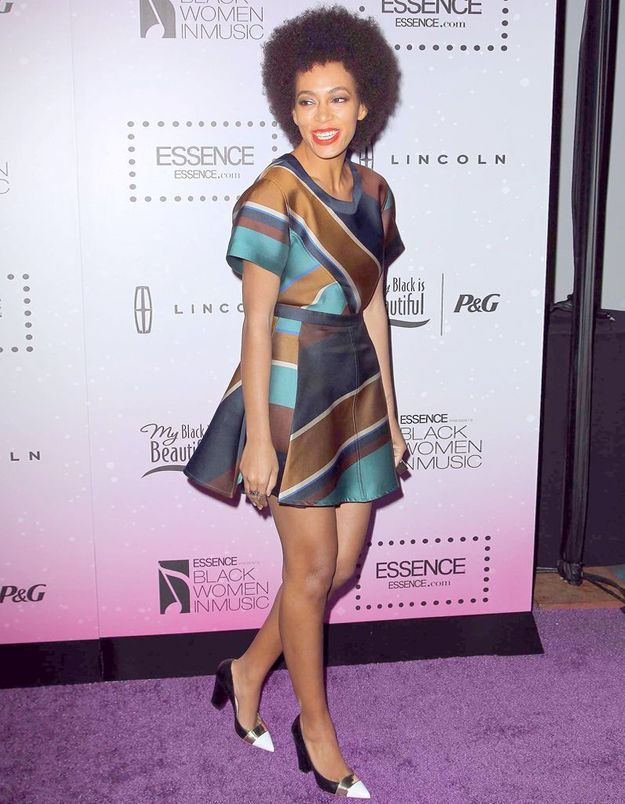 Le look du jour : Solange Knowles