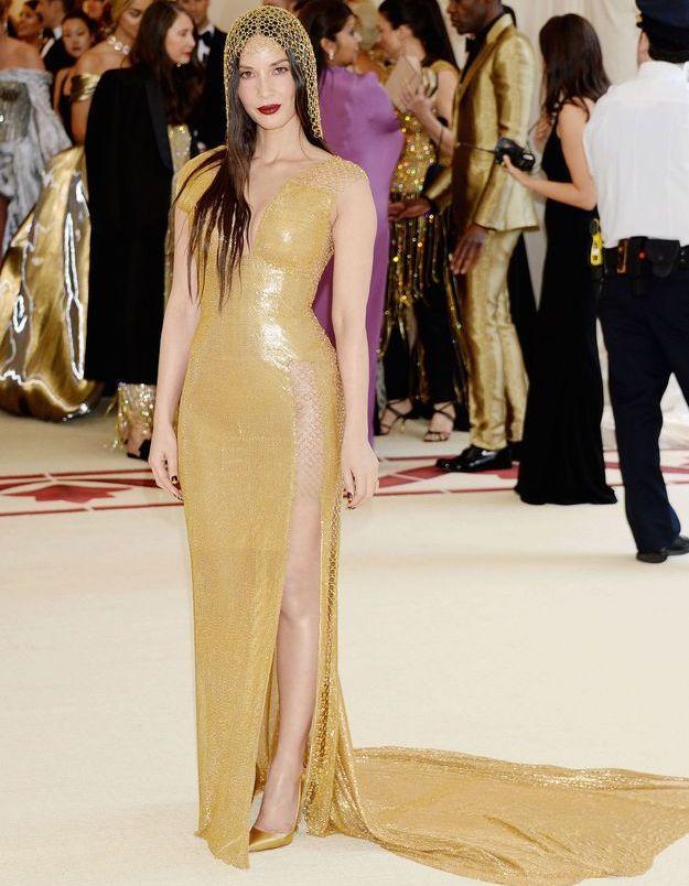 Olivia Munn en H&M Conscious