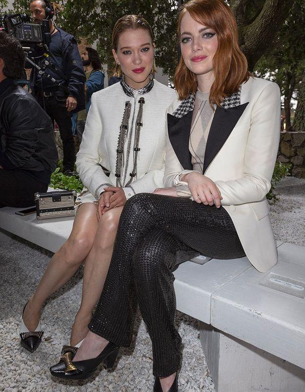 Léa Seydoux et Emma Stone