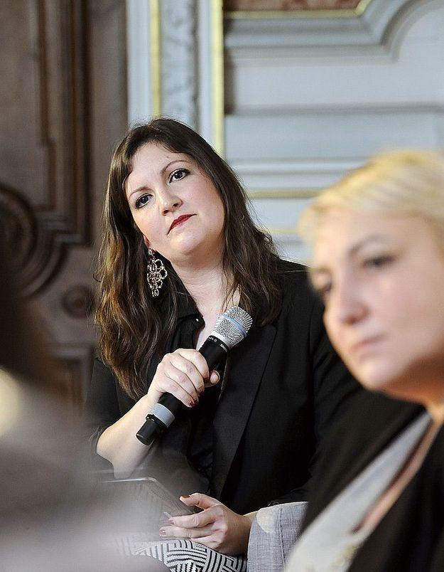 Clémence Leveau, ELLE, et la secrétaire d'Etat Pascale Boistard