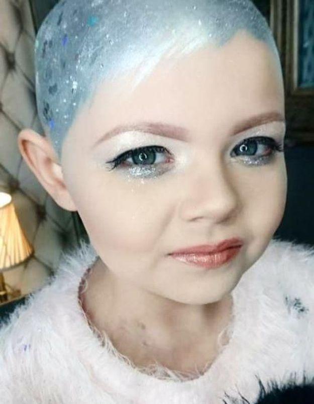 Atteinte d'un cancer, elle émeut Cara Delevingne en reproduisant sa coupe de cheveux