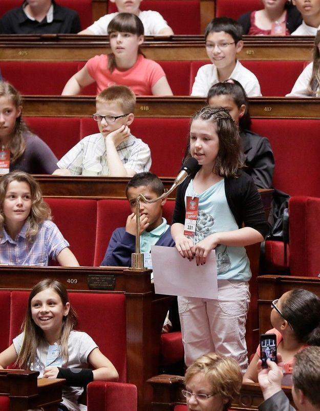Le Parlement des enfants engagé contre la violence à l'école