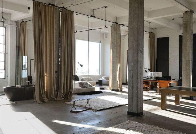 Un loft californien de 420 m² sans aucune cloison !