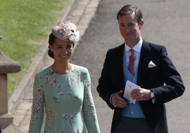 Mariage du prince Harry et Meghan Markle  Pippa Middleton, enceinte et  radieuse
