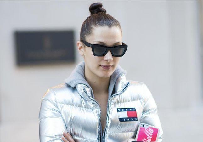 Kendall, Bella… Elles portent toutes la doudoune métallisée