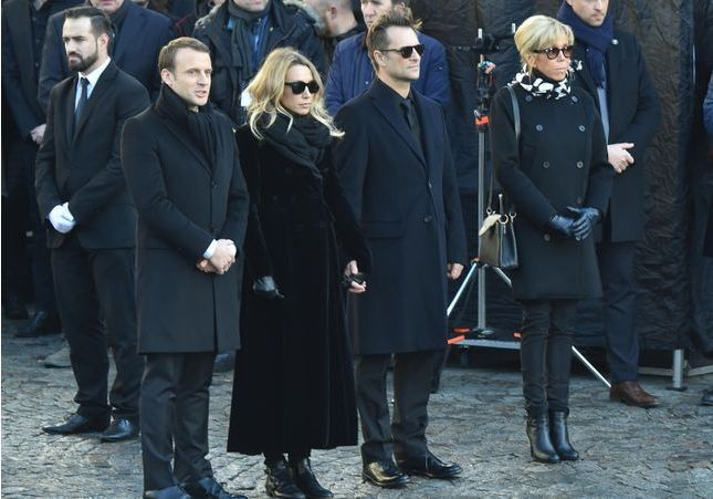 Disparition de Johnny Hallyday : la discussion de Laura Smet et David Hallyday avec Brigitte Macron