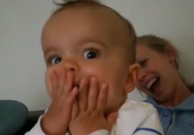 Présidentielle : la réaction de ce bébé choqué face aux résultats fait le tour du Web