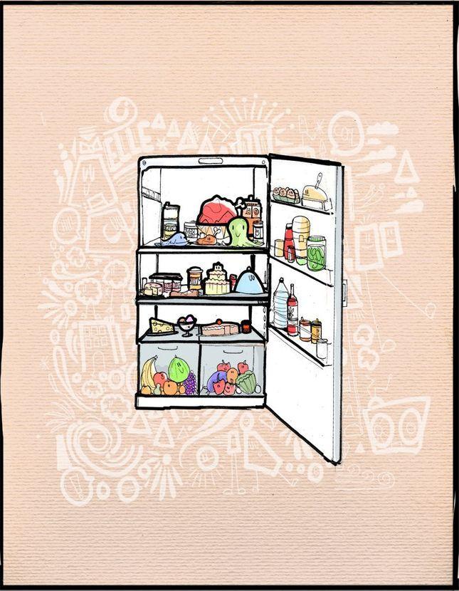 Faire un gateau avec les restes du frigo