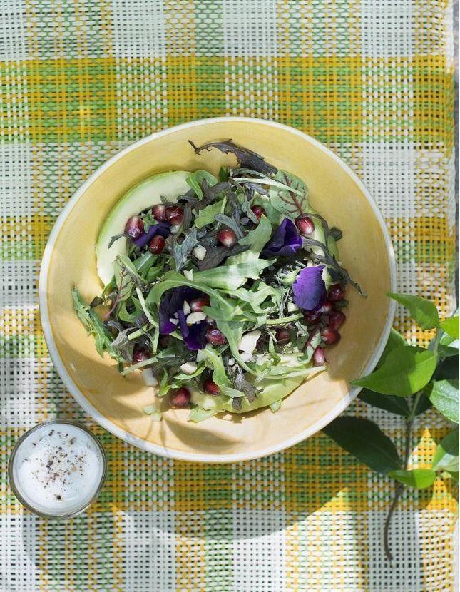 Salade bowl avocat grenade