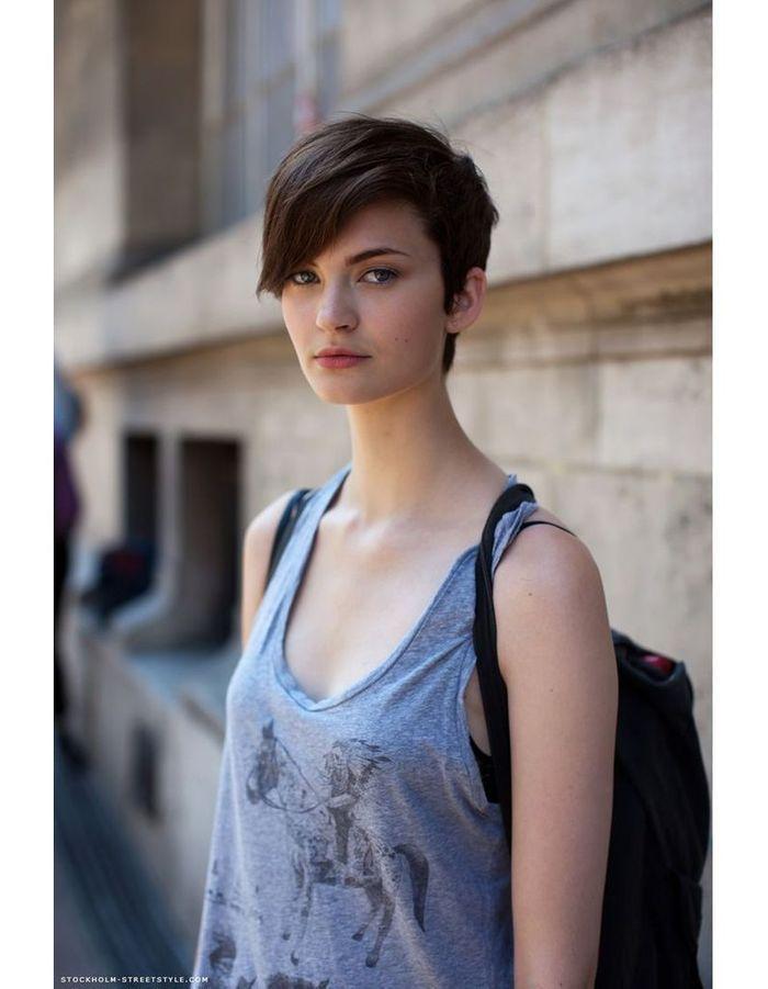 Préférence Modèle de coiffure courte hiver 2015 - Les plus belles coupes  BT08