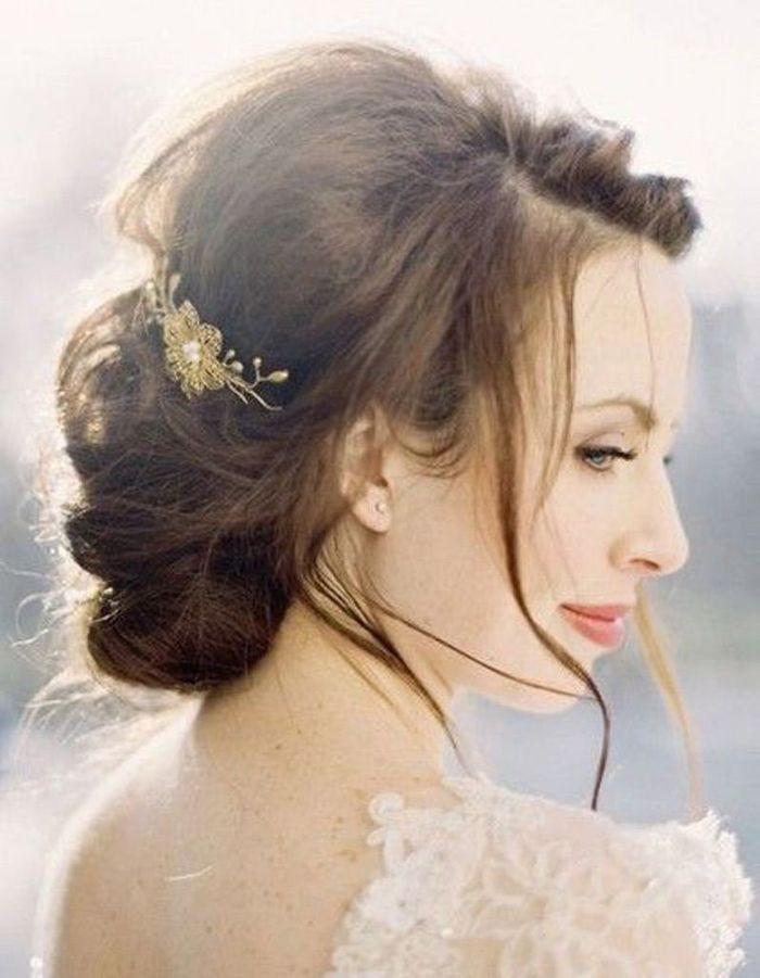 Bien connu Coiffure mariée ronde - Les plus jolies coiffures de mariée pour s  HE07