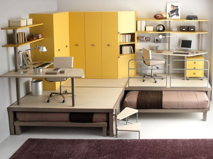 Favori 3 façons d'aménager un espace bureau dans la chambre - Elle Décoration RL16