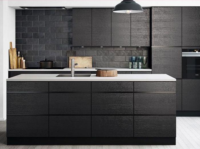 Favori Une cuisine design pour un intérieur contemporain - Elle Décoration EY32